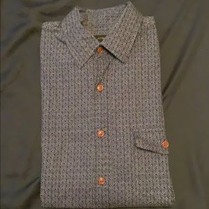 JCrew long sleeve printed shirt